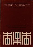 Islamic Calligraphy PDF