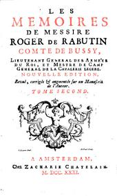 Les mémoires de messire Roger de Rabutin, comte de Bussy