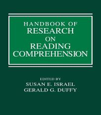 Handbook of Research on Reading Comprehension PDF