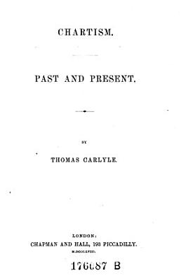Chartism  Past and Present PDF