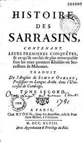 Histoire des sarrasins