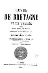 Revue de Bretagne, de Vendée & d'Anjou: Volumes3à4;Volume17