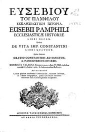 Eusebiou tou Pamphilou Ekklesiastike Istoria