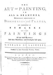 The Art of Painting  in All Its Branches     Translated by John Frederick Fritsch PDF