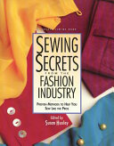 Sewing Secrets from the Fashion Industry PDF