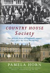 Country House Society Book PDF