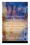 Erinnerungen Und Reisen PDF