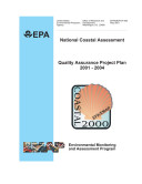National coastal assessment quality assurance project plan, 20012004.