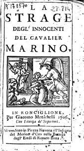 La strage degl'innocenti del cavalier Marino
