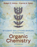 Student Solutions Manual to Accompany Organic Chemistry Book