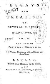Essays and Treatises on Several Subjects: Volume 4