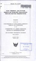 Past  Present  and Future Irregular Warfare Challenges PDF