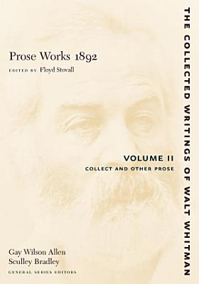 Prose Works 1892  Volume II PDF