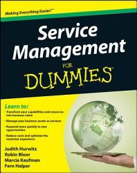 Service Management For Dummies PDF
