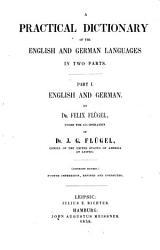 Praktisches Englisch Deutsches und Deutsch Englisches W  rterbuch in zwei Theilen PDF