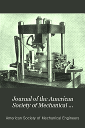 Journal of the American Society of Mechanical Engineers: Volume 33
