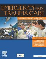 Emergency and Trauma Care for Nurses and Paramedics PDF