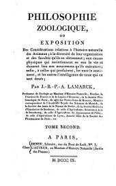 Philosophie zoologique: Volume2