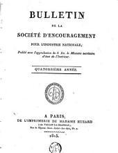Bulletin de la Société d'encouragement pour l'industrie nationale: Volume7