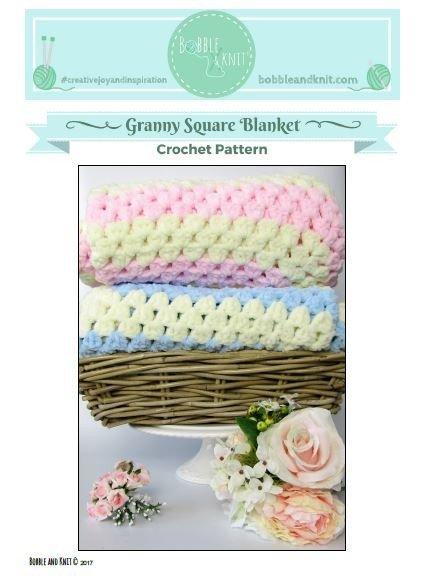 Crochet Granny Square Blanket Pattern