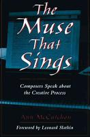 The Muse that Sings PDF