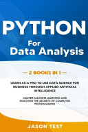 Python for Data Analysis PDF