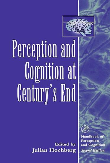 Perception and Cognition at Century s End PDF