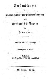 Verhandlungen: Protokolle, Volumes 105-110