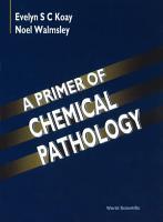 A Primer of Chemical Pathology PDF