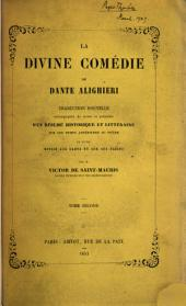 La divine comédie, tr. accompagnée de notes par V. de Saint-Mauris: Volume 2