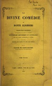 La divine comédie, tr. accompagnée de notes par V. de Saint-Mauris: Volume2