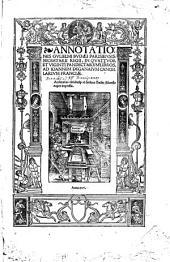 Annotationes in 24 libros Pandectarum