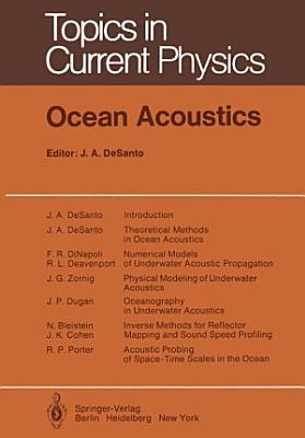 Ocean Acoustics