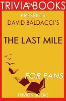 The Last Mile  A Novel by David Baldacci  Trivia On Books  PDF