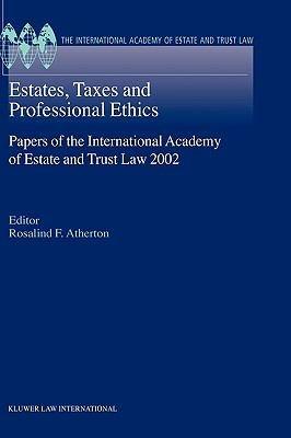 Estates  Taxes  and Professional Ethics