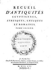 Recueil d'Antiquites Egyptiennes, Etrusques, Grecques et Romaines