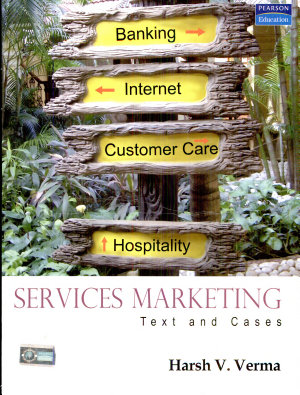 Services Marketing  Text And Cases