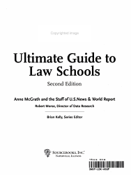 U S News Ultimate Guide To Law Schools Book PDF
