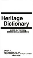 American Heritage Second College Dictionary PDF