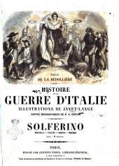 Histoire de la guerre d'Italie Solferino, Montebello, Palestro, Magenta, Marignan