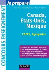 Canada, Etats-Unis, Mexique - Capes-Agrégation: Capes-Agrégation Géographie