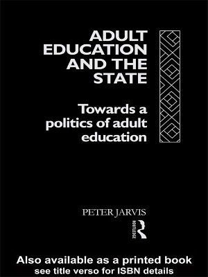 Adult Education and the State PDF