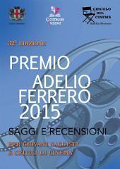 Saggi e recensioni del 32° Premio Ferrero