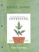 Fundamentals of Investing PDF