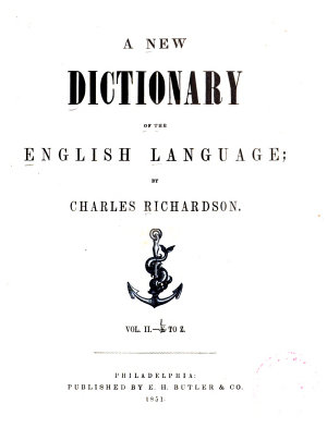 A New Dictionary of the English Language PDF