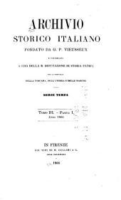 Archivio storico italiano: Volumi 3-4