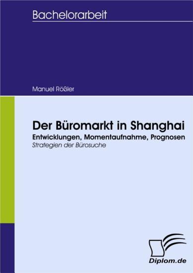 Der B  romarkt in Shanghai   Entwicklungen  Momentaufnahme  Prognosen PDF