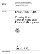 Executive guide creating value through worldclass financial management.