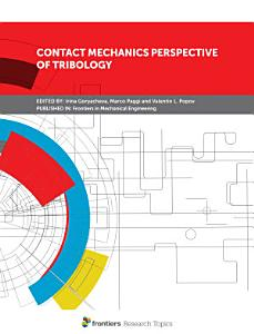 Contact mechanics perspective of tribology