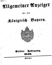 Allgemeiner Anzeiger für das Königreich Bayern: gerichtliche und polizeyliche Bekanntmachungen, Band 11